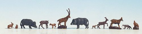 Noch 36745 N Scale :Forest Animals (12)